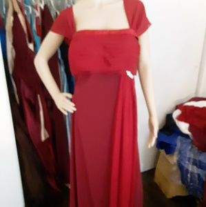 Plus size formal gown,evening mother of the bride